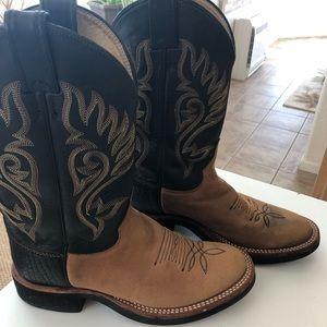 Ladies Justin Boot 7-1/2B